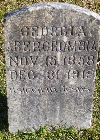 ABERCROMBIA, GEORGIA - Bartow County, Georgia | GEORGIA ABERCROMBIA - Georgia Gravestone Photos