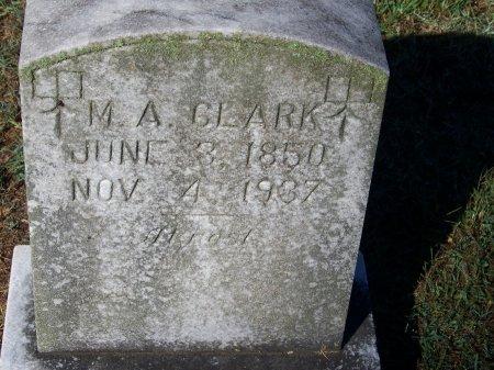 CLARK, M. A. - Bartow County, Georgia | M. A. CLARK - Georgia Gravestone Photos