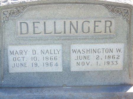 NALLY DELLINGER, MARY DAMASCUS - Bartow County, Georgia | MARY DAMASCUS NALLY DELLINGER - Georgia Gravestone Photos