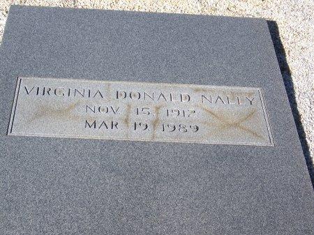NALLY, VIRGINIA MARY - Bartow County, Georgia   VIRGINIA MARY NALLY - Georgia Gravestone Photos