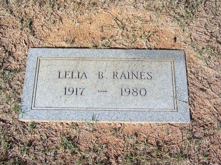 RAINES, LELIA BELLE - Bartow County, Georgia | LELIA BELLE RAINES - Georgia Gravestone Photos