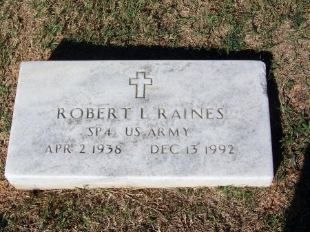 RAINES (VETERAN), ROBERT L. (NEW) - Bartow County, Georgia | ROBERT L. (NEW) RAINES (VETERAN) - Georgia Gravestone Photos