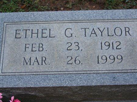 TAYLOR, ETHEL G. - Bartow County, Georgia | ETHEL G. TAYLOR - Georgia Gravestone Photos