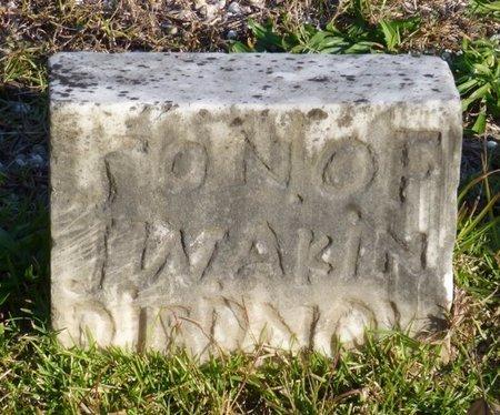 AKIN, INFANT SON - Bartow County, Georgia | INFANT SON AKIN - Georgia Gravestone Photos
