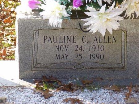 CONWAY ALLEN, PAULINE - Bartow County, Georgia | PAULINE CONWAY ALLEN - Georgia Gravestone Photos