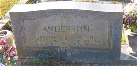 "ANDERSON, WILLIAM OTIS ""WILLIE"" - Bartow County, Georgia   WILLIAM OTIS ""WILLIE"" ANDERSON - Georgia Gravestone Photos"