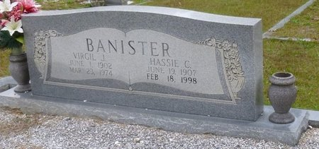CHANDLER BANISTER, HASSIE - Bartow County, Georgia | HASSIE CHANDLER BANISTER - Georgia Gravestone Photos