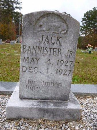BANNISTER, JR, JACK - Bartow County, Georgia | JACK BANNISTER, JR - Georgia Gravestone Photos