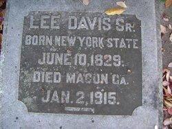 DAVIS, SR, LEE - Bibb County, Georgia   LEE DAVIS, SR - Georgia Gravestone Photos