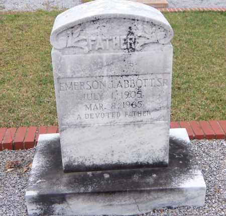 ABBOTT, EMERSON J - Carroll County, Georgia | EMERSON J ABBOTT - Georgia Gravestone Photos