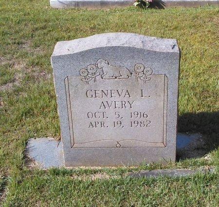 AVERY, GENEVA L. - Carroll County, Georgia | GENEVA L. AVERY - Georgia Gravestone Photos
