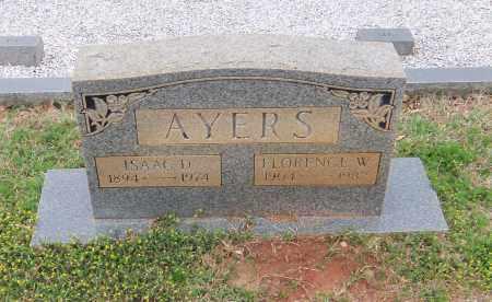 AYERS, FLORENCE W - Carroll County, Georgia   FLORENCE W AYERS - Georgia Gravestone Photos