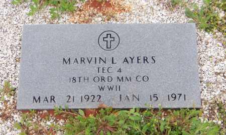 AYERS, MARVIN L - Carroll County, Georgia   MARVIN L AYERS - Georgia Gravestone Photos