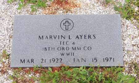 AYERS, MARVIN L - Carroll County, Georgia | MARVIN L AYERS - Georgia Gravestone Photos