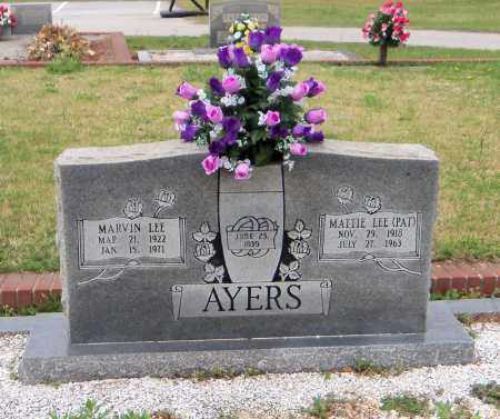 AYERS, MARVIN LEE - Carroll County, Georgia | MARVIN LEE AYERS - Georgia Gravestone Photos