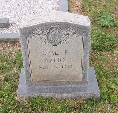 AYERS, OPAL R - Carroll County, Georgia | OPAL R AYERS - Georgia Gravestone Photos