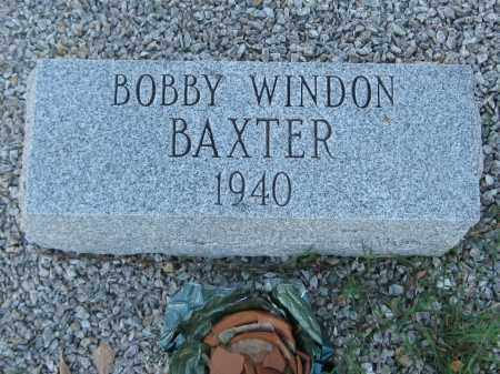 BAXTER, BOBBY WINDON - Carroll County, Georgia | BOBBY WINDON BAXTER - Georgia Gravestone Photos