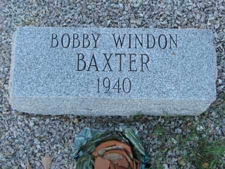 BAXTER, BOBBY WINDON - Carroll County, Georgia | BOBBY WINDON BAXTER - Georgia Gravestone Photos