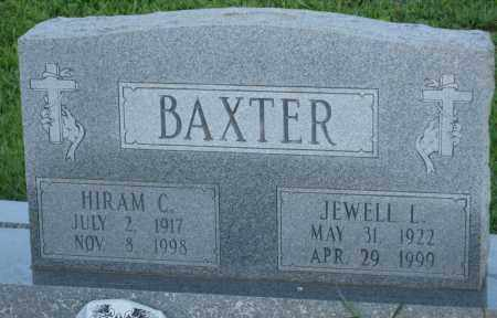 BAXTER, HIRAM C. - Carroll County, Georgia | HIRAM C. BAXTER - Georgia Gravestone Photos
