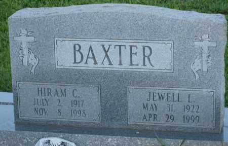 BAXTER, JEWELL L. - Carroll County, Georgia | JEWELL L. BAXTER - Georgia Gravestone Photos