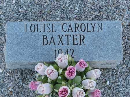 BAXTER, LOUISE CAROLYN - Carroll County, Georgia   LOUISE CAROLYN BAXTER - Georgia Gravestone Photos