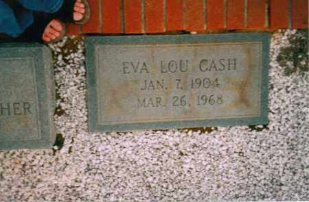 CASH, EVA LOU - Carroll County, Georgia | EVA LOU CASH - Georgia Gravestone Photos