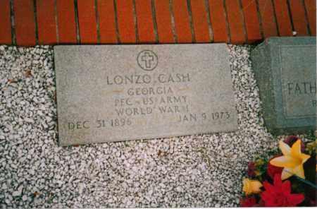 CASH, LONZO - Carroll County, Georgia   LONZO CASH - Georgia Gravestone Photos