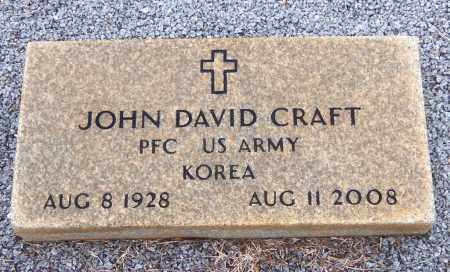 CRAFT, JOHN DAVID - Carroll County, Georgia | JOHN DAVID CRAFT - Georgia Gravestone Photos