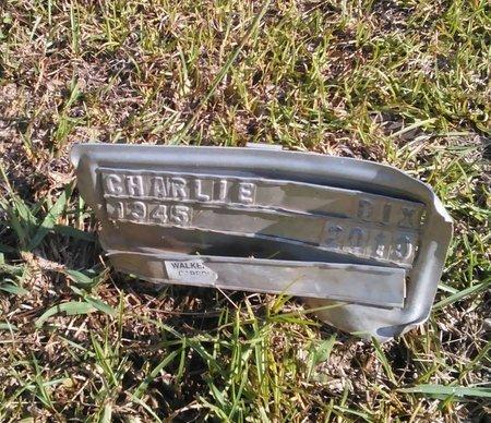 DIX, CHARLIE - Carroll County, Georgia   CHARLIE DIX - Georgia Gravestone Photos