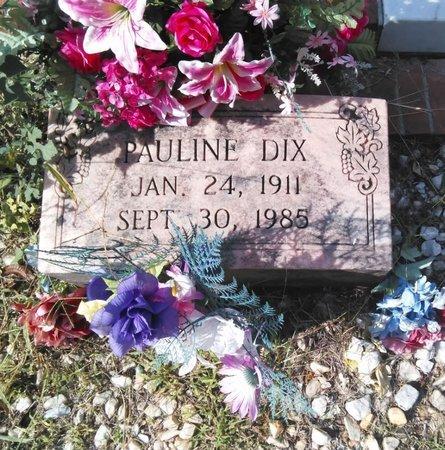 DIX, PAULINE - Carroll County, Georgia   PAULINE DIX - Georgia Gravestone Photos