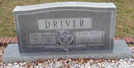 DRIVER, EARL WILLIAM - Carroll County, Georgia | EARL WILLIAM DRIVER - Georgia Gravestone Photos