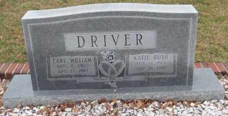 RUSH DRIVER, KATIE - Carroll County, Georgia | KATIE RUSH DRIVER - Georgia Gravestone Photos