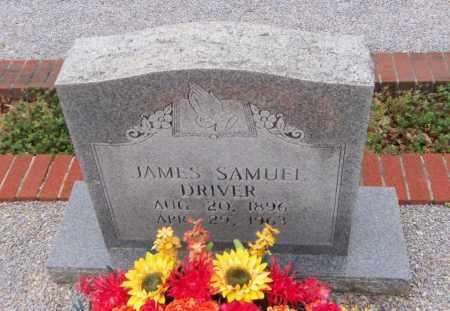 DRIVER, JAMES SAMUEL - Carroll County, Georgia | JAMES SAMUEL DRIVER - Georgia Gravestone Photos