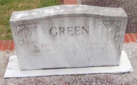 GREEN, FLORA CATHERINE - Carroll County, Georgia   FLORA CATHERINE GREEN - Georgia Gravestone Photos
