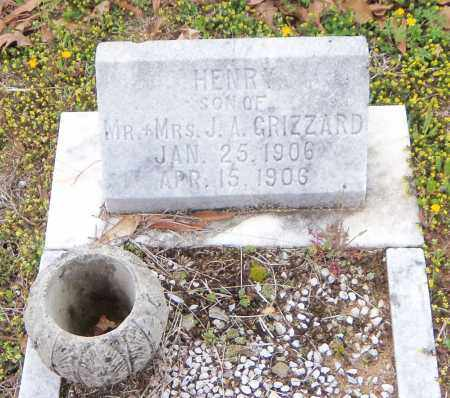 GRIZZARD, HENRY - Carroll County, Georgia | HENRY GRIZZARD - Georgia Gravestone Photos