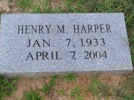 HARPER, HENRY M. - Carroll County, Georgia | HENRY M. HARPER - Georgia Gravestone Photos
