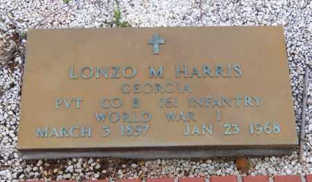 HARRIS, LONZO M - Carroll County, Georgia | LONZO M HARRIS - Georgia Gravestone Photos