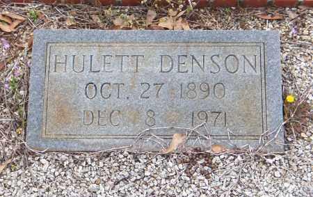 HENDRIX, HULETT DENSON - Carroll County, Georgia | HULETT DENSON HENDRIX - Georgia Gravestone Photos