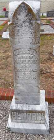 HENDRIX, SALLIE L - Carroll County, Georgia | SALLIE L HENDRIX - Georgia Gravestone Photos