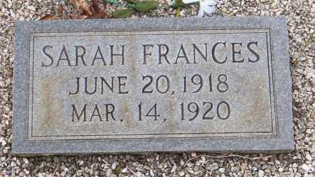 HENDRIX, SARAH FRANCES - Carroll County, Georgia | SARAH FRANCES HENDRIX - Georgia Gravestone Photos