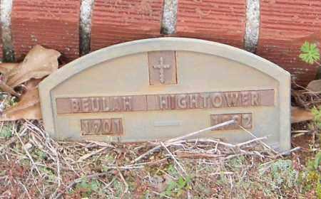 HIGHTOWER, BEULAH GEORGIA - Carroll County, Georgia | BEULAH GEORGIA HIGHTOWER - Georgia Gravestone Photos