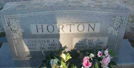 HORTON, CHESTER J. - Carroll County, Georgia | CHESTER J. HORTON - Georgia Gravestone Photos