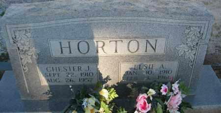 HORTON, ELSIE A. - Carroll County, Georgia | ELSIE A. HORTON - Georgia Gravestone Photos
