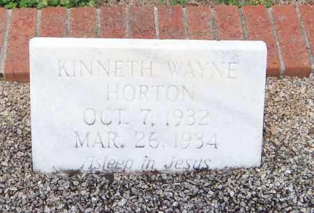 HORTON, KINNETH WATNE - Carroll County, Georgia | KINNETH WATNE HORTON - Georgia Gravestone Photos