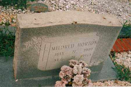 HORTON, MILDRED - Carroll County, Georgia | MILDRED HORTON - Georgia Gravestone Photos