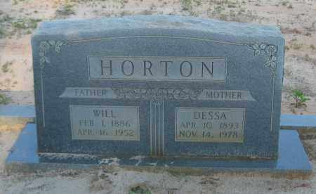 HORTON, WILL - Carroll County, Georgia | WILL HORTON - Georgia Gravestone Photos