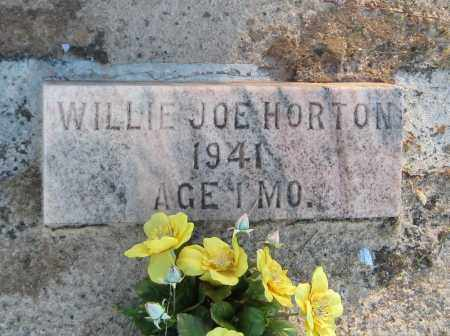 HORTON, WILLIE JOE - Carroll County, Georgia | WILLIE JOE HORTON - Georgia Gravestone Photos