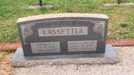 LASSETTER, BURNETT S - Carroll County, Georgia | BURNETT S LASSETTER - Georgia Gravestone Photos