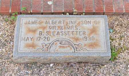 LASSETTER, JAMES ALBERT - Carroll County, Georgia | JAMES ALBERT LASSETTER - Georgia Gravestone Photos