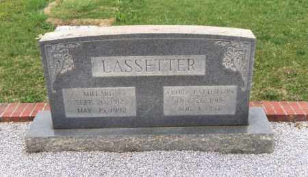 LASSETTER, FLORA - Carroll County, Georgia | FLORA LASSETTER - Georgia Gravestone Photos